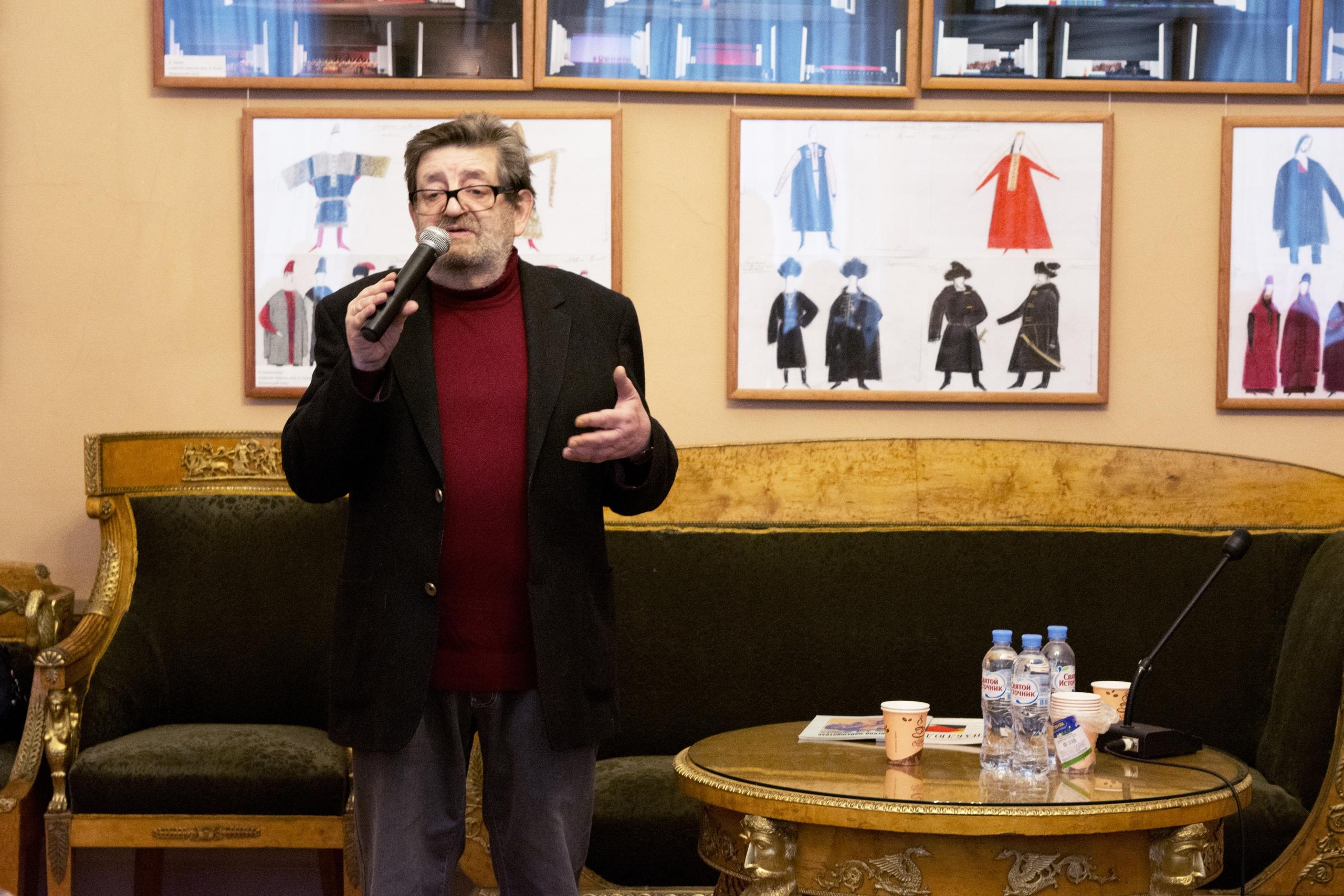 23 ноября, проект «Театрология»